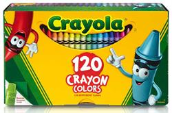 120 ct. Original Crayola Crayon Box