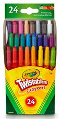 24 ct. Mini Twistable Crayons
