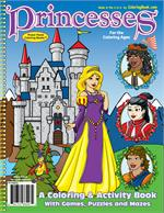 Princesses Power Panel Coloring Book