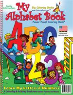 ABC-123 My Alphabet Book Power Panel Coloring Book