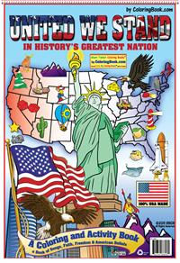 Partriotic Coloring Books America