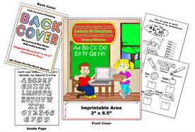 Libro de Colorear y Actividades de Letras y Numeros Letters and Numbers Imprintable