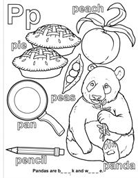 ABC-123 Learn My Letter and Numbers Really Big Coloring Book - P