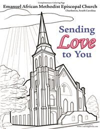 AME Church - Free Coloring Page