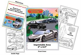Acura Imprintable Coloring & Activity Book