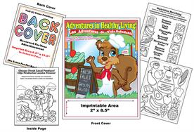 Adventures in Healthy Living Imprintable Coloring Book
