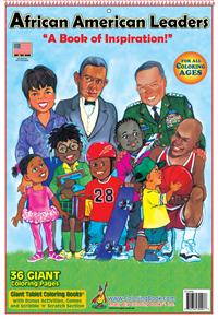 African American Leaders Giant Coloring Book