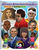 African American Leaders Power Panel Coloring Book vol. 2