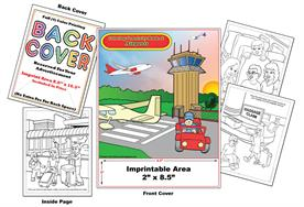 Airport - Imprintable Coloring & Activity Book