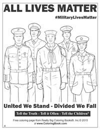 All Lives Matter - Free Online Coloring Pages 4