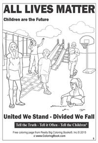 All Lives Matter - Free Online Coloring Pages 5