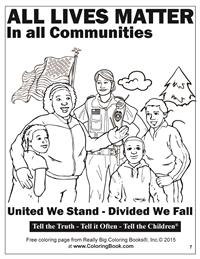 All Lives Matter - Free Online Coloring Pages 7
