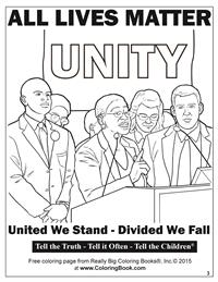 All Lives Matter - Free Online Coloring Pages 3