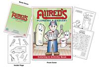 Allred's Plumbing and Radiant Custom Coloring Book