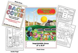 Alternative Energy - Imprintable Coloring & Activity Book