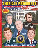 American Presidents Coloring and Activity Book