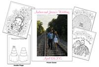 Andrea and Jason Wedding Coloring Book