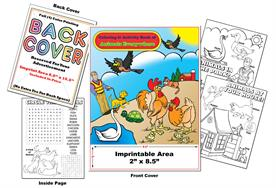 Animals Everywhere - Imprintable Coloring & Activity Book