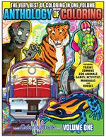 Anthology of Coloring vol. 1 Coloring and Activity Book