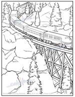 Anthology of Coloring - Trains