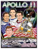 Apollo 11 Coloring and Activity Book