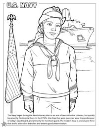 U.S. Navy coloring page