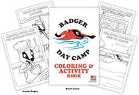 Badger Day Camp Coloring and Activity Book