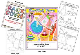 Ballet Fun - Imprintable Coloring Book