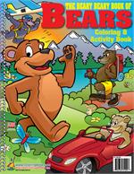 Beary Beary Book of Bears Power Panel Coloring Book