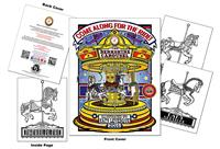 Berkshire Carousel Custom Coloring Book