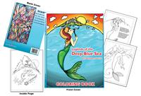 Coloring Books | Legends of the Deep Blue Sea by Betty Jean Nativio