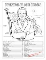 President Joe Biden Table of Contents