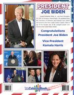 President Joe Biden - Vice President Kamala Harris Coloring Book back cover