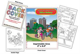 Bike Safety - Imprintable Coloring & Activity Book