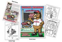 Billings Mustangs Baseball Coloring Book