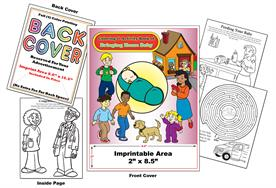 Bringing Home Baby - Imprintable Coloring & Activity Book