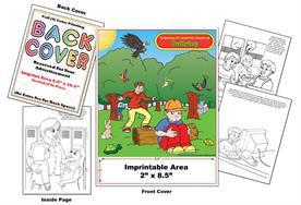 Bullying bi-lingual - Imprintable Coloring & Activity Book
