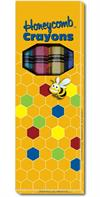 4 ct. Honeycomb no-roll Crayons boxed crayons