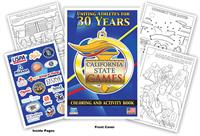 California State Games Coloring Book