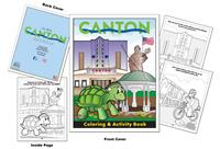 Canton, Georgia Custom Coloring Book