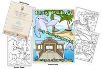 Casa Marina-The Reach Resorts Coloring Book