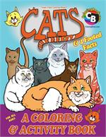 Cats Coloring and Activity Book