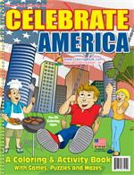Celebrate America Power Panel Coloring Book