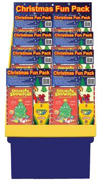 Christmas Fun Pack Floor Display (20 count) - Bongiovi Entertainment