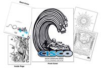 Cisco Artist Signature Series Coloring Book