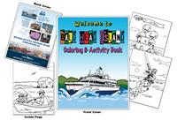 Coastal Urge - Welcome to Bald Head Island Coloring Book