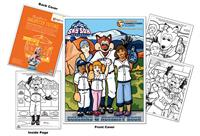 Colorado Springs Sky Sox Baseball Coloring Book