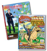 Ted Cruz 2-pack bundle of coloring books