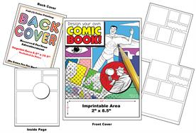 Design Your Own Comic - Imprintable Coloring Book