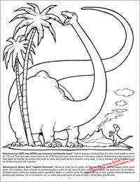 Dinosaurs Really Big Coloring Book - page 10